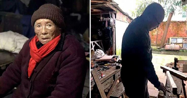 Đi bộ gần một tiếng dưới mưa, cụ bà 98 tuổi quyết trả lại món nợ nhỏ từ 50 năm trước - H1