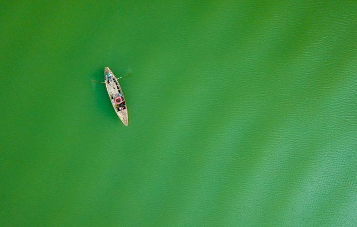 Cuộc sống thanh bình của đôi vợ chồng trên hòn đảo giữa lòng hồ Trị An.6