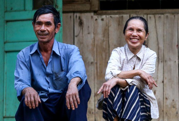 Cuộc sống thanh bình của đôi vợ chồng trên hòn đảo giữa lòng hồ Trị An.12