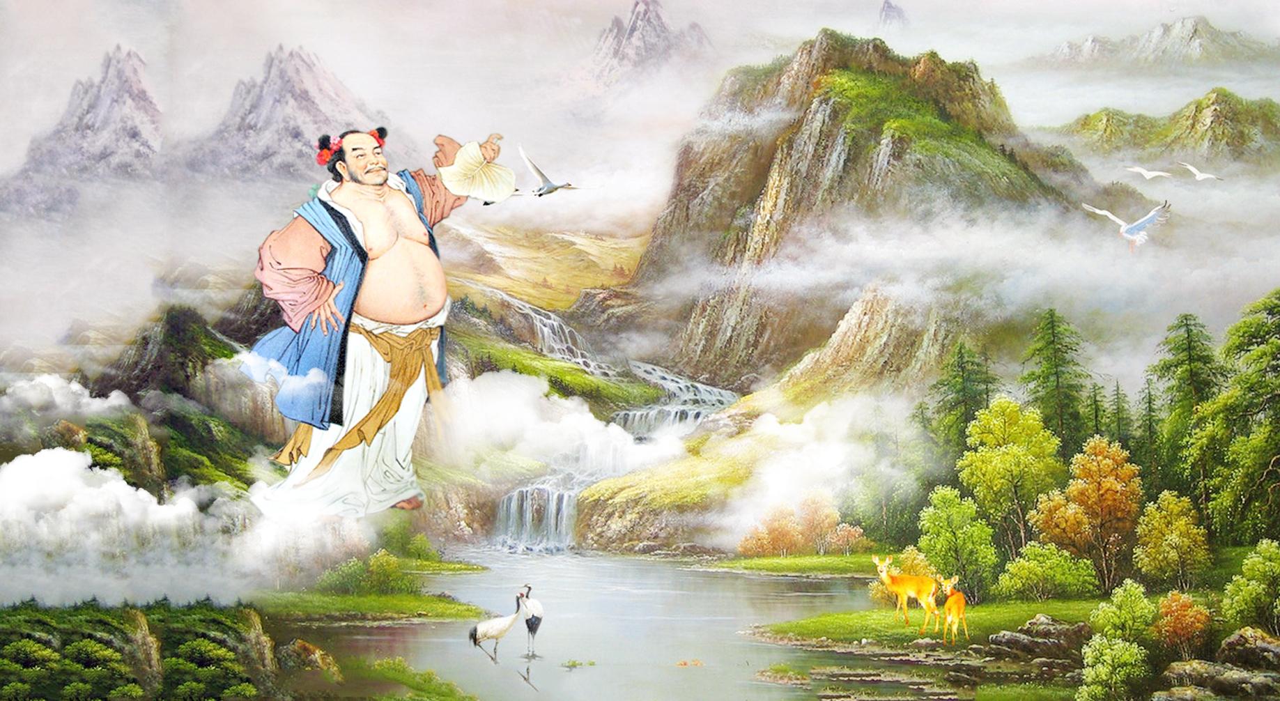 Truyền thuyết núi Bán Bình: Hán Chung Ly xẻ núi tìm đồ đệ