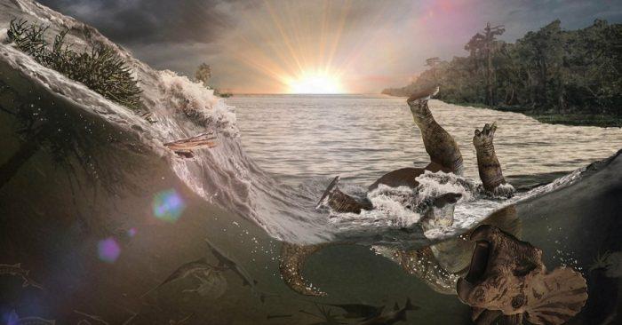 'Kho hóa thạch' kể lại diễn biến vụ thiên thạch rơi 66 triệu năm trước