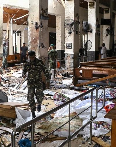 8 vụ nổ liên tiếp xảy ra tại Sri Lanka vào lễ Phục Sinh khiến 207 người thiệt mạng - H3