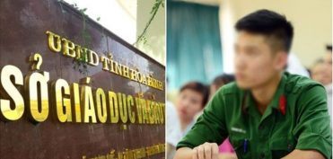 Hòa Bình: Ẵm 2 điểm 0 vẫn trở thành Thủ khoa Trường Sĩ quan Lục quân 1