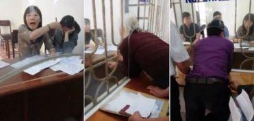Nam Định: Xử lý người quay clip 'dân chui qua lỗ làm việc với cán bộ' ?