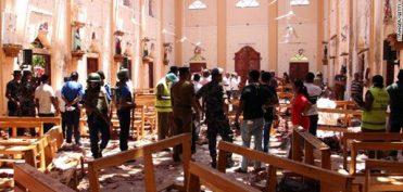 8 vụ nổ liên tiếp xảy ra tại Sri Lanka vào lễ Phục Sinh khiến 207 người thiệt mạng