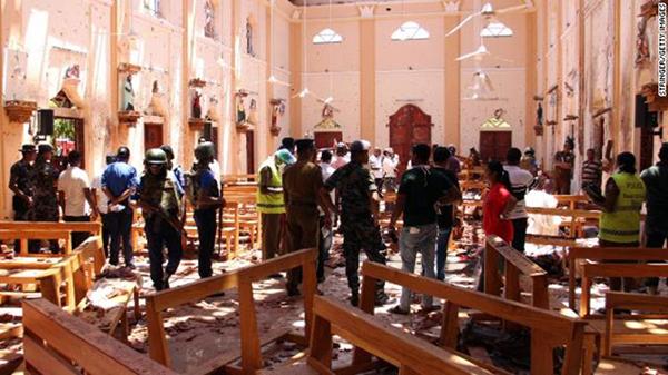 8 vụ nổ liên tiếp xảy ra tại Sri Lanka vào lễ Phục Sinh khiến 207 người thiệt mạng - H1