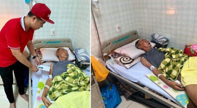 Nghệ sĩ Lê Bình mê man sốt cao, thân dưới bị hoại tử vì ung thư - H2