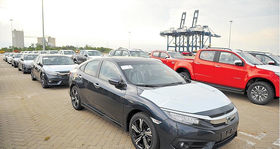 Ôtô nhập khẩu vào Việt Nam phần lớn là từ Thái Lan và Indonesia