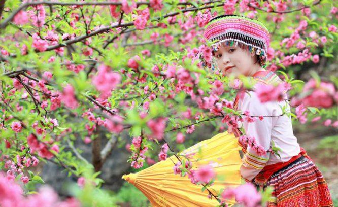 Phụ nữ tựa những đóa hoa, nếu biết yêu thương sẽ tỏa hương thơm ngát.2