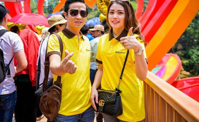 Cầu kính Mộc Châu chính thức khánh thành thu hút hàng trăm du khách, 8