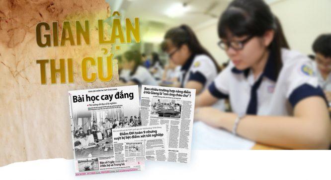 Hà Giang, Sơn La: Đa số thí sinh được nâng điểm là 'con ông cháu cha' - H3