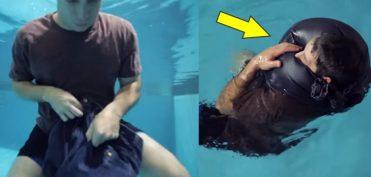 Trôi dạt trên biển hơn 3 tiếng đồng hồ, người đàn ông thoát chết nhờ 'phao quần jean'