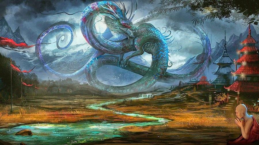 Trên ngọn núi ở tỉnh Cát Lâm, từng có một con rồng ngày đêm bảo vệ bách tính. Ảnh 1