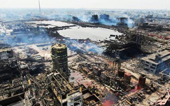 Vụ nổ nhà máy hóa chất ở Giang Tô rốt cuộc làm chết bao nhiêu người? - H1