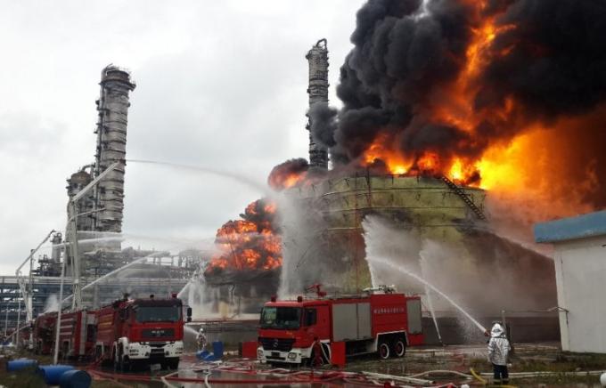 Đài Loan: Nổ nhà máy hóa chất Formosa, hơn 10.000 người phải sơ tán