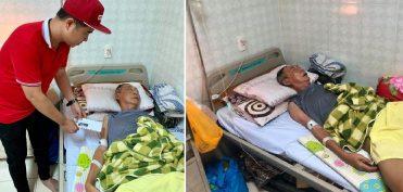 Nghệ sĩ Lê Bình mê man sốt cao, thân dưới bị hoại tử vì ung thư
