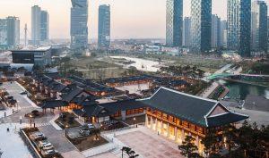 Hàn Quốc đang xây dựng một thành phố hiện đại, loại bỏ hoàn toàn ô tô