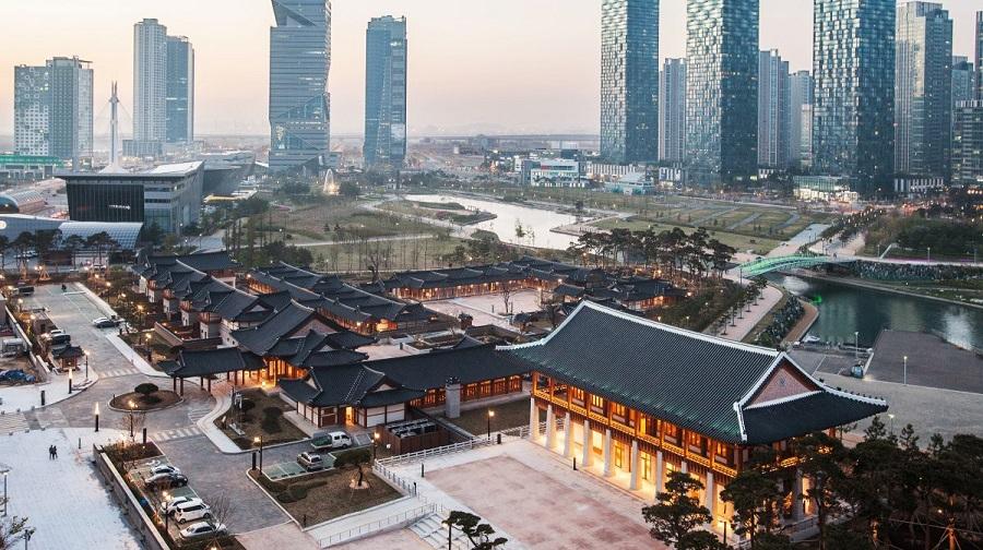 Hàn Quốc đang xây dựng một thành phố hiện đại, loại bỏ hoàn toàn ô tô. Ảnh 1