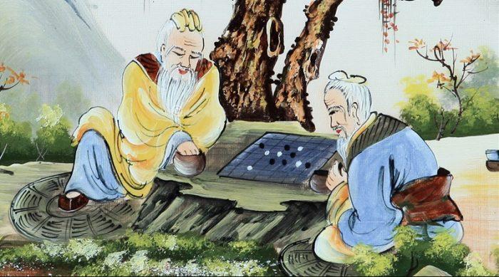 Nhân sinh thế sự như bàn cờ, không chấp nhất mới là cao thủ.1
