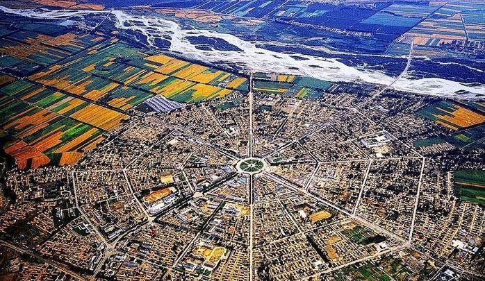 Khám phá thành phố hình bát quái tại Tân Cương, điểm dừng chân của các tín đồ Đạo giáo.1