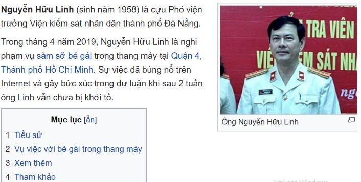 Ông Nguyễn Hữu Linh được 'ghi danh' muôn đời trên Wikipedia - H2