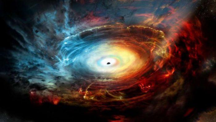 Vũ trụ đang đồng thời bị co lại và giãn ra?.1