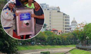 Hà Nội: Làm sạch sông Tô Lịch bằng công nghệ nano Nhật Bản