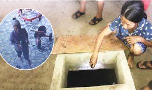 Cụ bà đổ thuốc diệt cỏ vào giếng nước đầu độc cả nhà hàng xóm