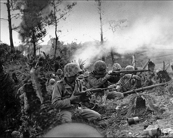 Trận chiến tại Okinawa, Nhật Bản
