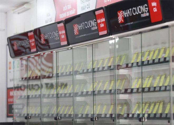 Nhiều cửa hàng Nhật Cường Mobile đồng loạt đóng cửa.3
