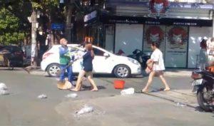 Công An phạt chủ shop quần áo đánh cô lao công ở Quảng Trị 2,5 triệu đồng