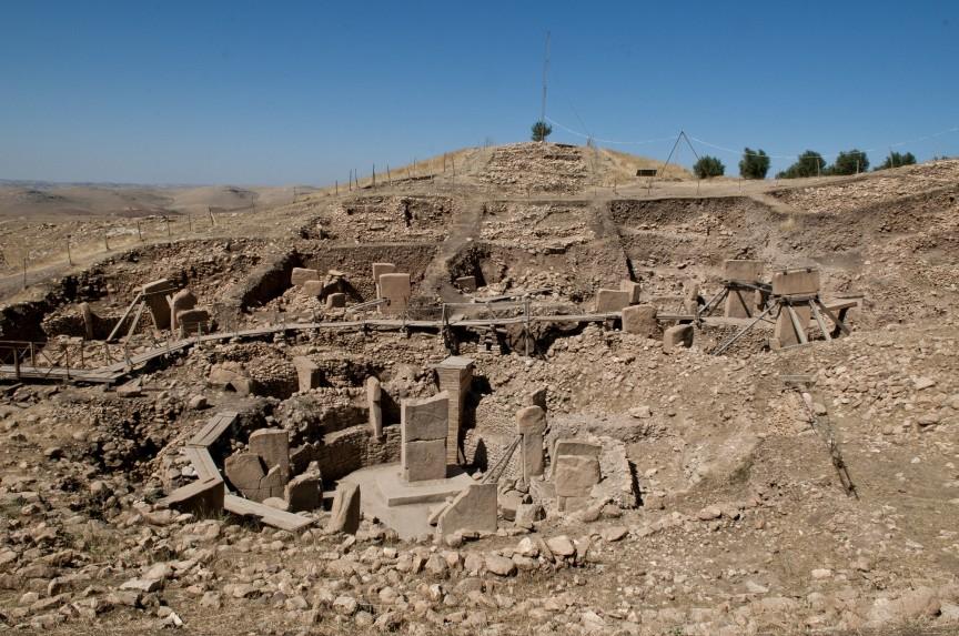 Tàn tích ngôi đền Gobekli. (Ảnh qua yaplakal.com)