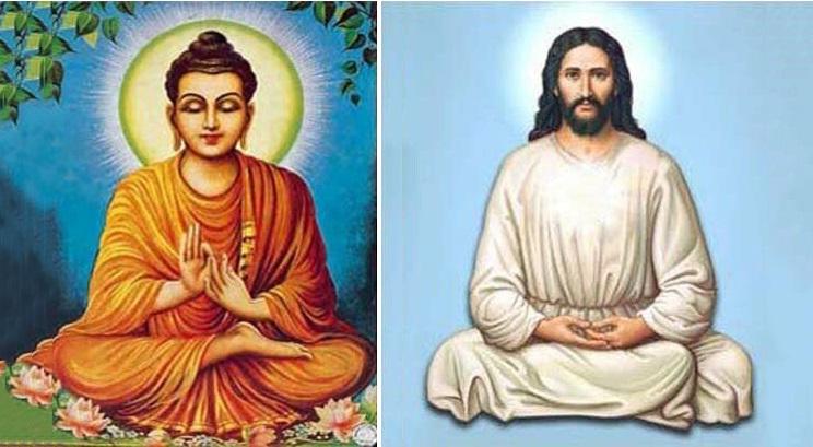 Nhiều tài liệu cổ và nhân vật nổi tiếng tiết lộ Chúa Jesus từng tu học Phật giáo ở Ấn Độ. (Ảnh qua fmkorea.com)