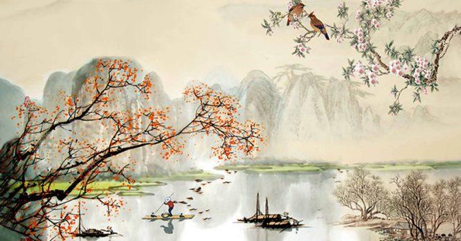 Thân ở trong trời đất, phải thuận với tự nhiên, tuân theo thiên ý.2