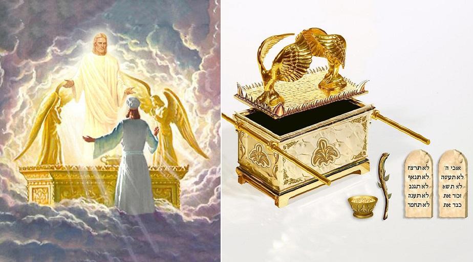 Hòm Giao Ước được xem là báu vật linh thiêng chứa 2 phiến đá ghi 10 điều răn của Thiên Chúa dành cho con người. (Ảnh: t/h)