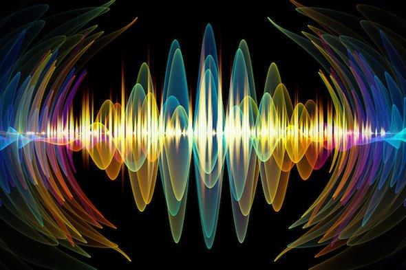 Tất cả vật chất trong vũ trụ đều trong trạng thái chuyển động liên tục, chúng rung động với những tần số khác nhau. (Ảnh qua Scientific American Blogs)