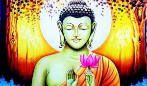 Khi Phật Thích Ca Mâu Ni hạ xuống thế gian để độ nhân, có bao nhiêu người tìm đến Ngài để thọ Pháp? (Ảnh quaPinterest)