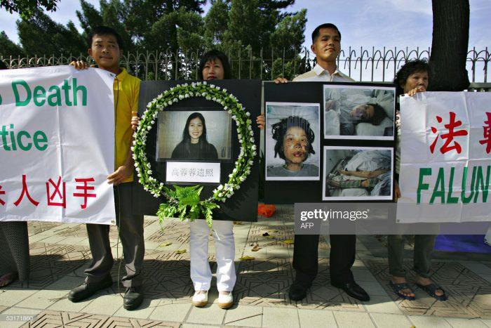 Dù Dung Dung đã ra đi nhưng những bức ảnh mà cô muốn cho cả thế giới thấy sẽ vẫn tiếp tục thay cô phơi bày sự tàn khốc của cuộc bức hại. (Ảnh: Getty Images)