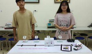 Sáng chế robot phát thuốc, học sinh Việt giành huy chương vàng quốc tế