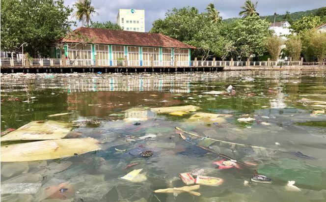 Đảo ngọc Phú Quốc ngập trong biển rác vì sự vô ý thức của người dân 3 - H5