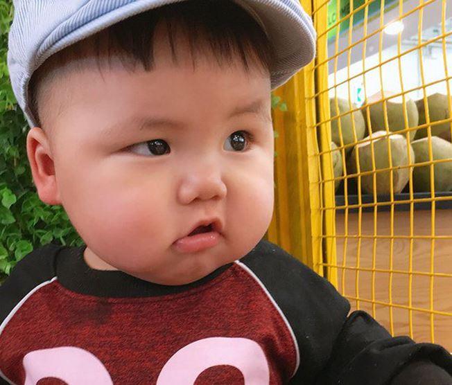 Cậu nhóc khóc ré 'ăn vạ' khi phải chụp ảnh bên cạnh chó - H11