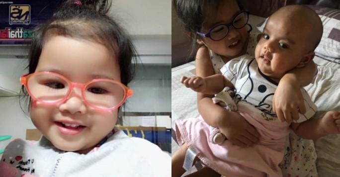 Giờ đây cô bé vẫn thường xuyên phải đeo kính