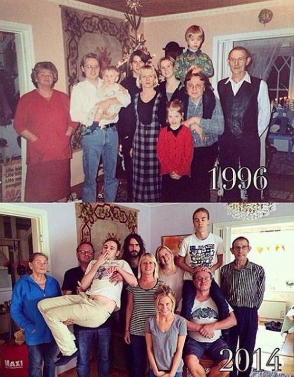 19 bức ảnh chứng minh thời gian có thể thay đổi tất cả, ngoại trừ tình yêu.21