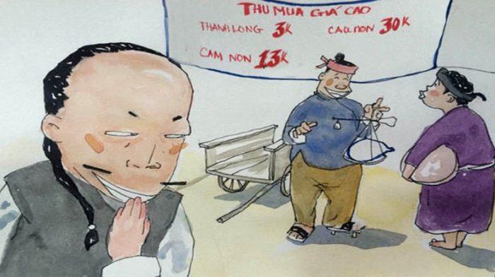 Gia Lai: Người dân đổ xô đi đẽo vỏ thông bán cho thương lái Trung Quốc. 1