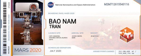 Người Việt đua nhau đăng ký với NASA để gửi tên lên sao Hoả - h4