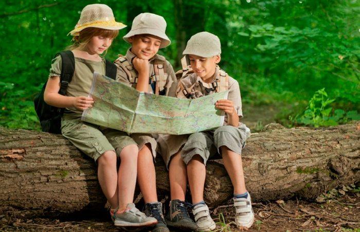 Lúc nhỏ sống gần thiên nhiên, cả đời sức khỏe tinh thần lành mạnh.1