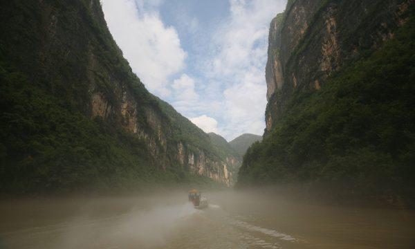 Hẻm núi Sương mù trên sông Dương Tử. (Andrew Wong/Getty Images)