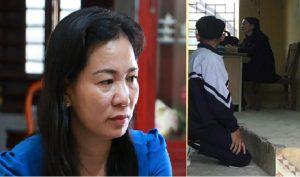 Phạt học sinh hư quỳ gối, một cô giáo bị khép tội 'làm nhục danh dự người khác'