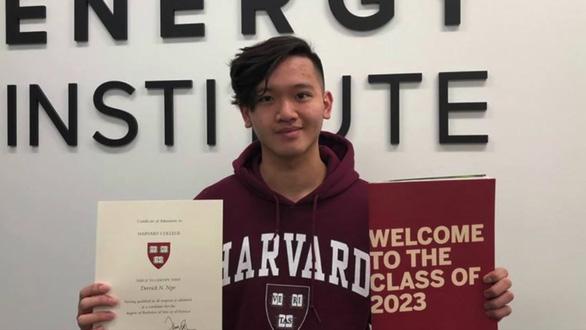 Chàng trai gốc Việt vô gia cư, mẹ cờ bạc vẫn trúng tuyển vào Đại học Harvard - h1