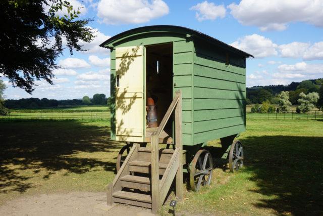 Một túp lều của người chăn cừu ở Hampshire. (Ảnh: Glen Bowman. CC BY 2.0)